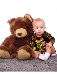 """Боди для малышей с длинным рукавом """"Хохлома"""""""